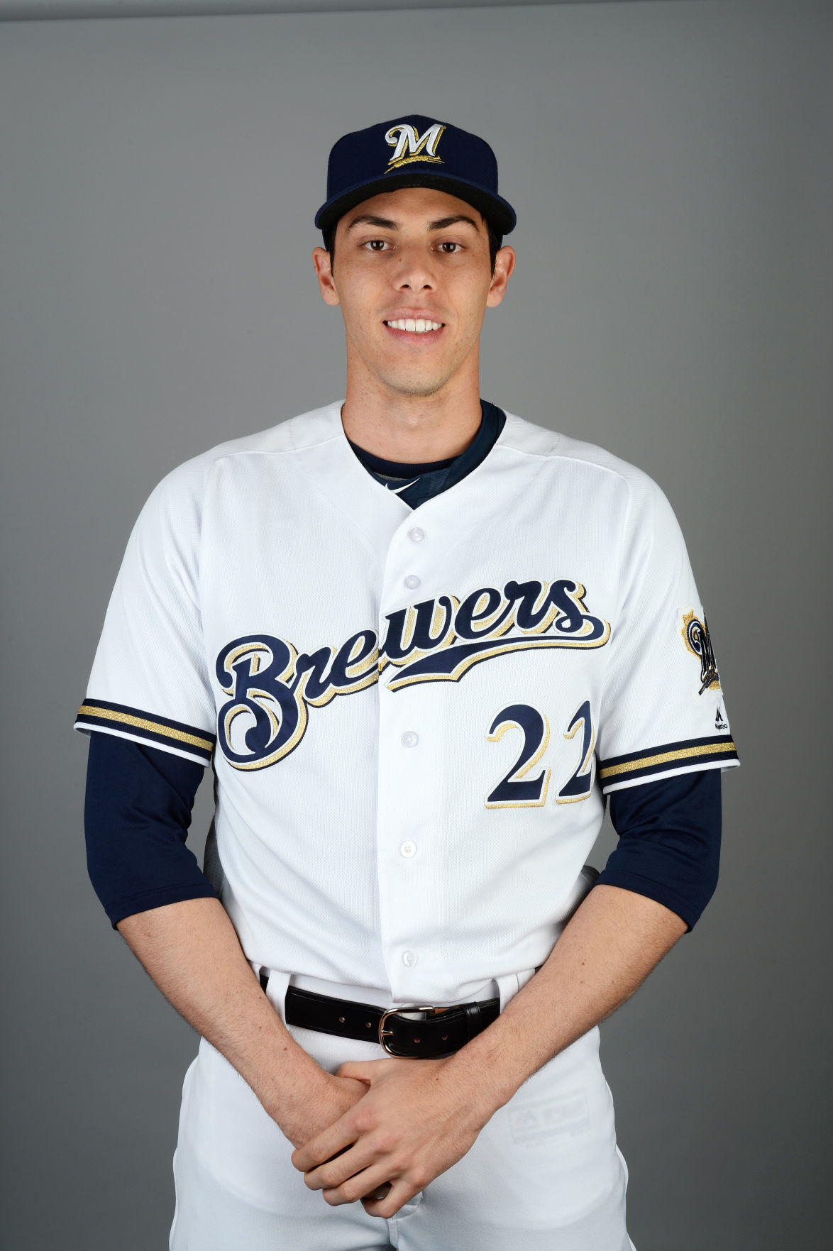 Yelich Brewers H/S