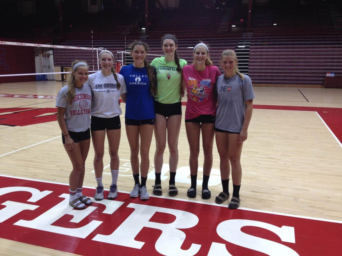 Wisconsin Badgers Volleyball Recruiting Tracker College Journaltimes Com
