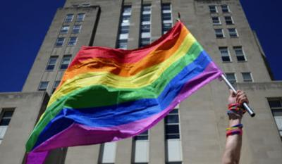 Gay Pride flag WEB ONLY