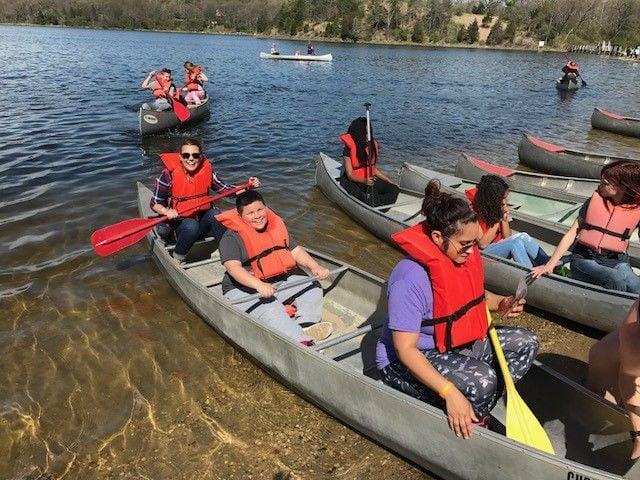 EverGreen Academy students making memories