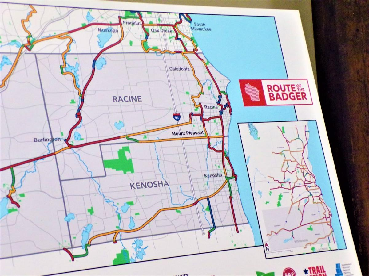 Route of the Badger Trail Network