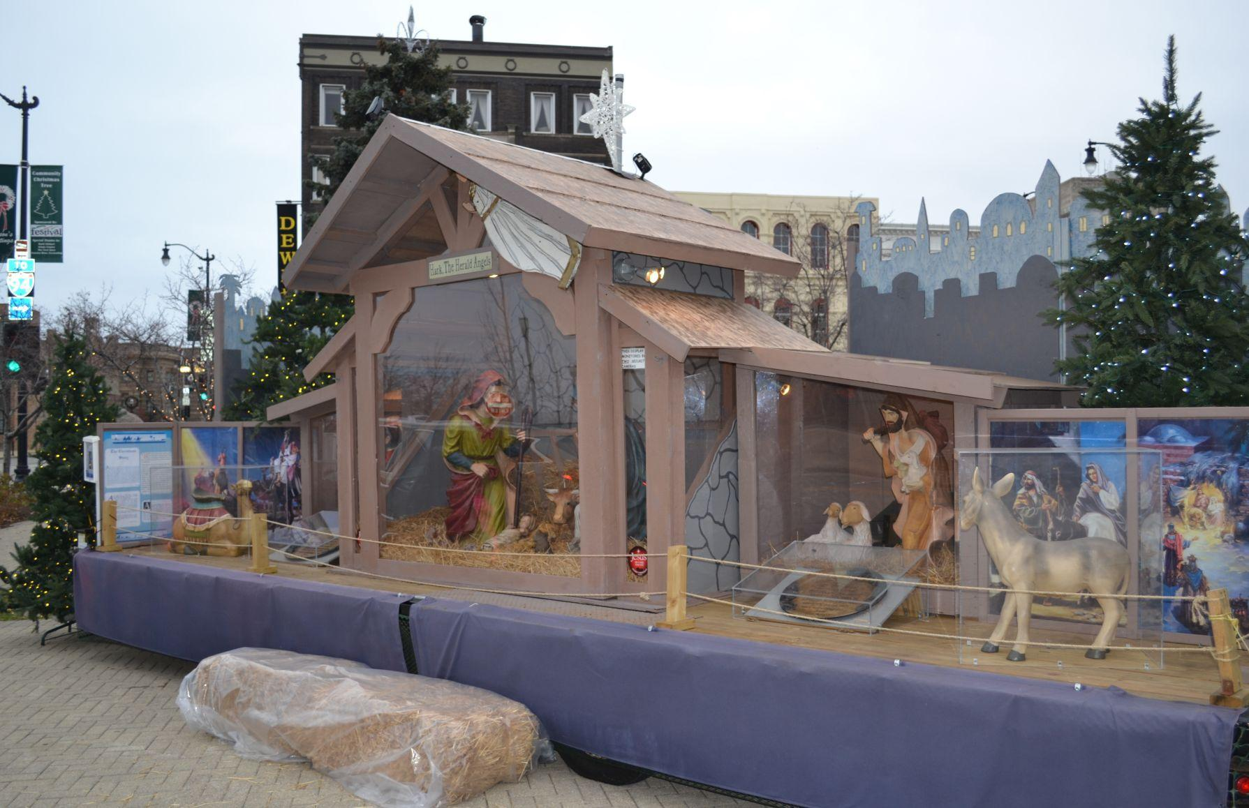 Nativity on Monument Square (copy)