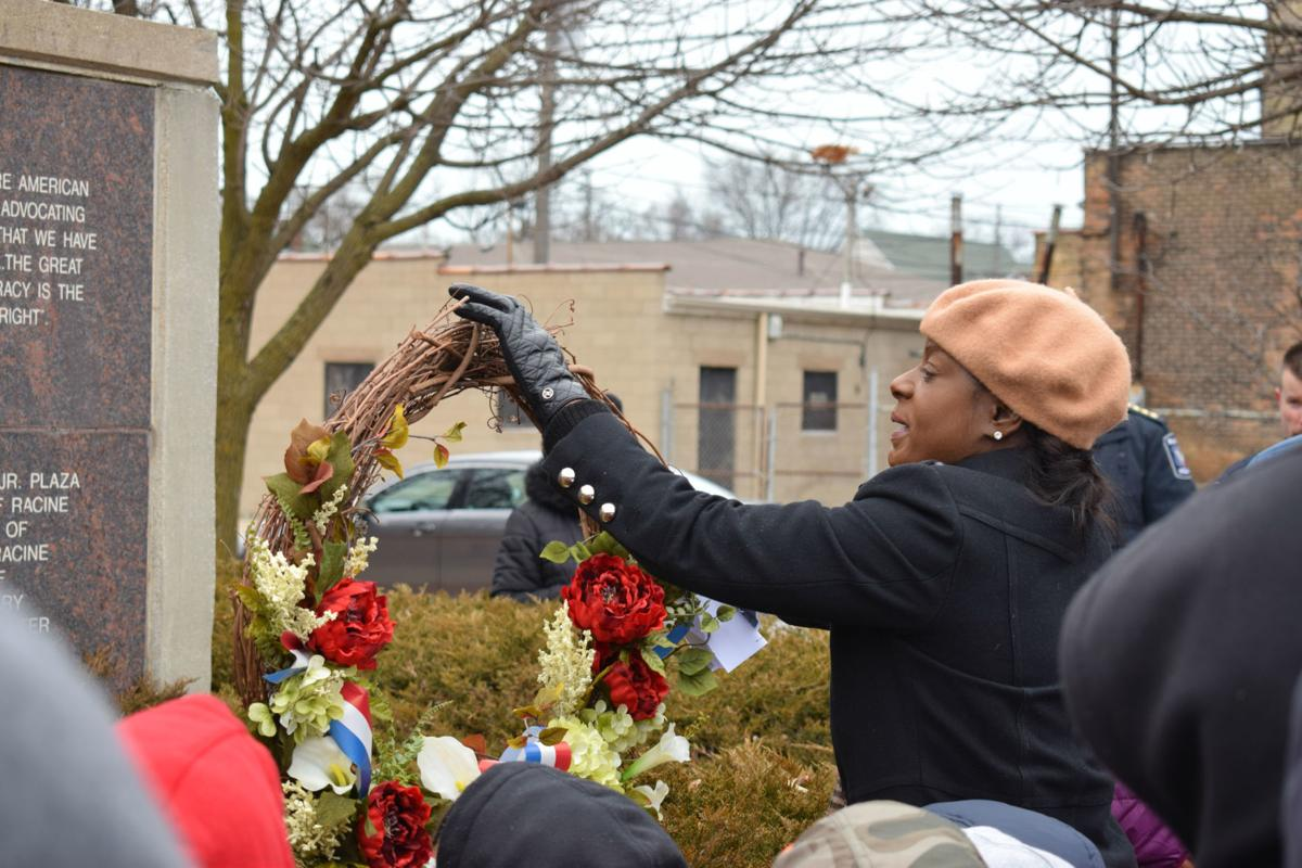 MLK wreath