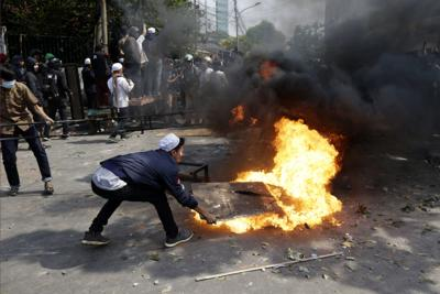 APTOPIX Indonesia Election Protests