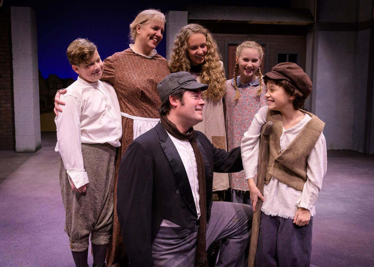 A Cratchit Family moment