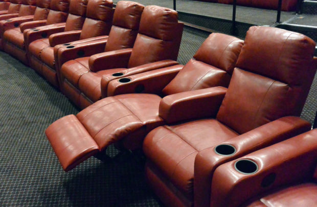 Recliner Seats Added To One Of Renaissance Cinema S Theaters