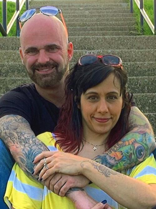 Robert Bane and Melissa Beesley