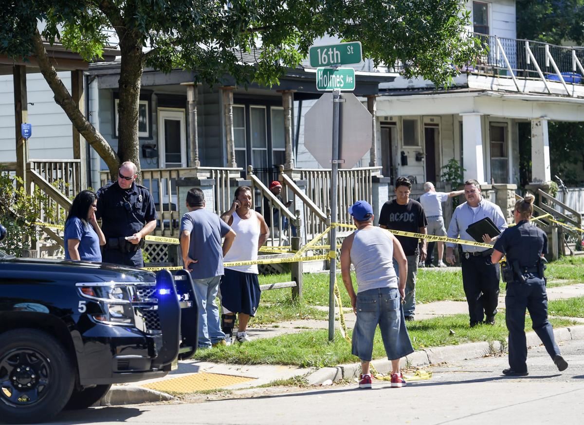 Man shot on Holmes Avenue
