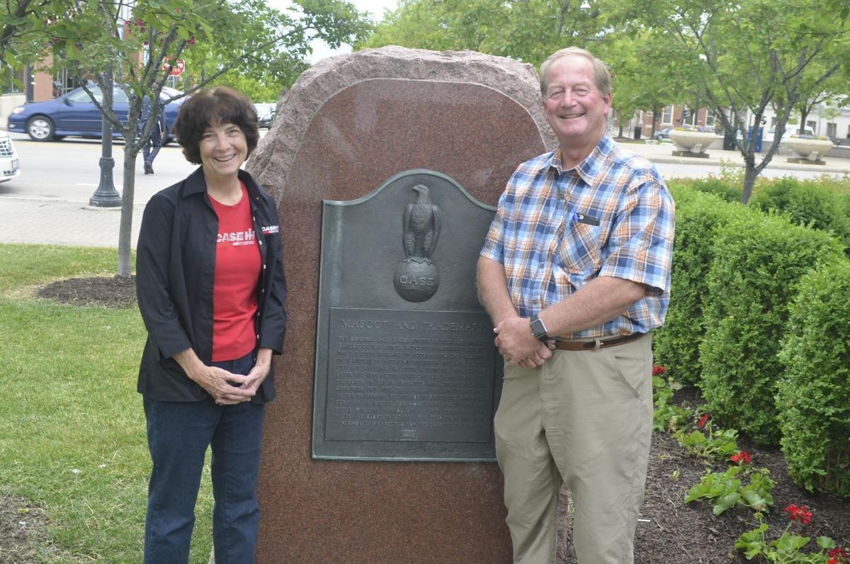 Case family visits Racine