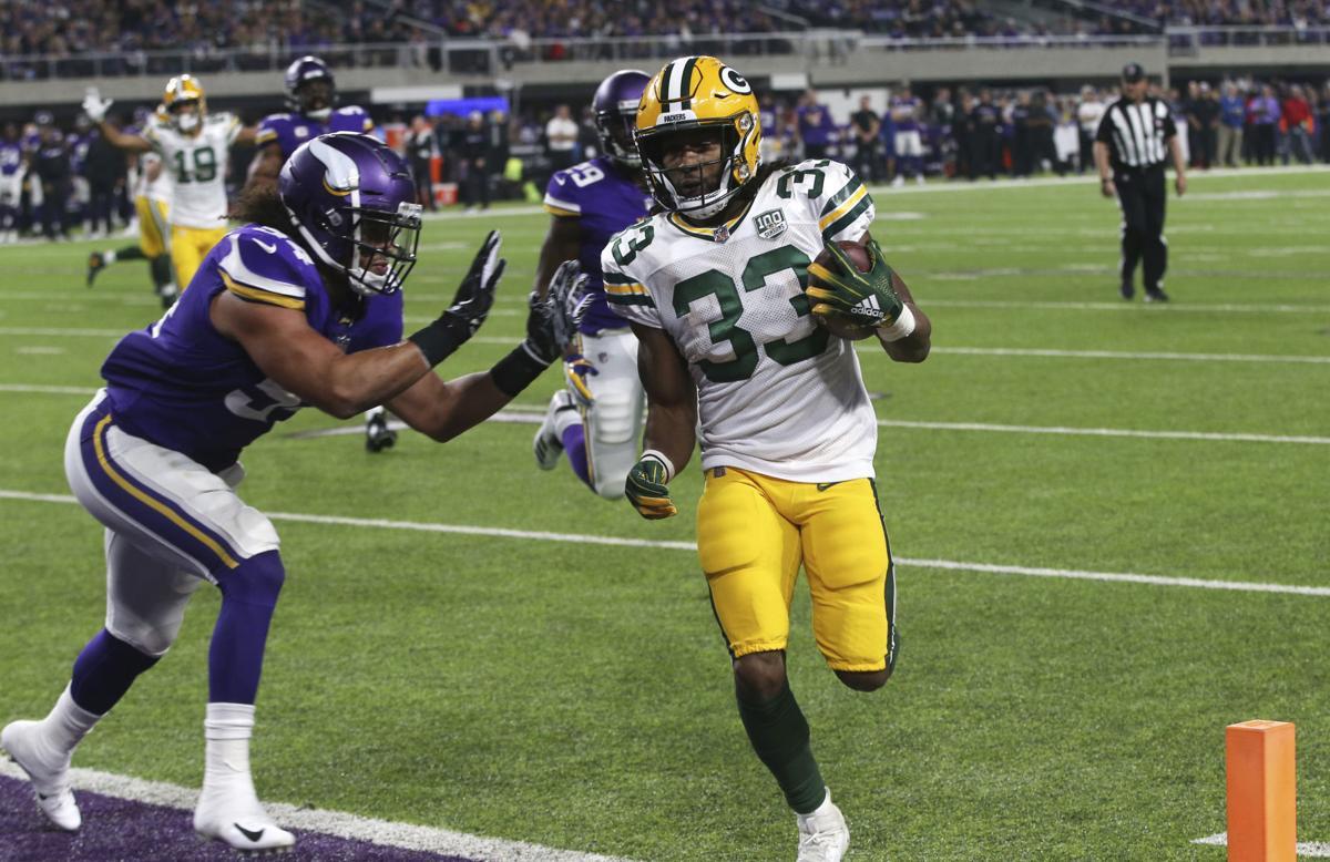 Vikings 24, Packers 17