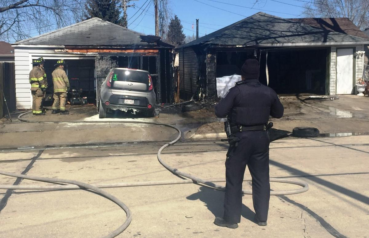 Hayes Avenue fire