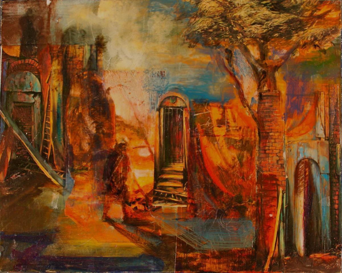 Pamela Schermer painting
