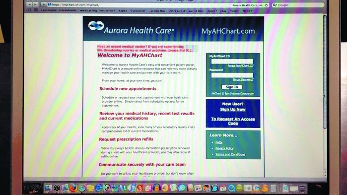 Aurora Health Cares MyAHChart