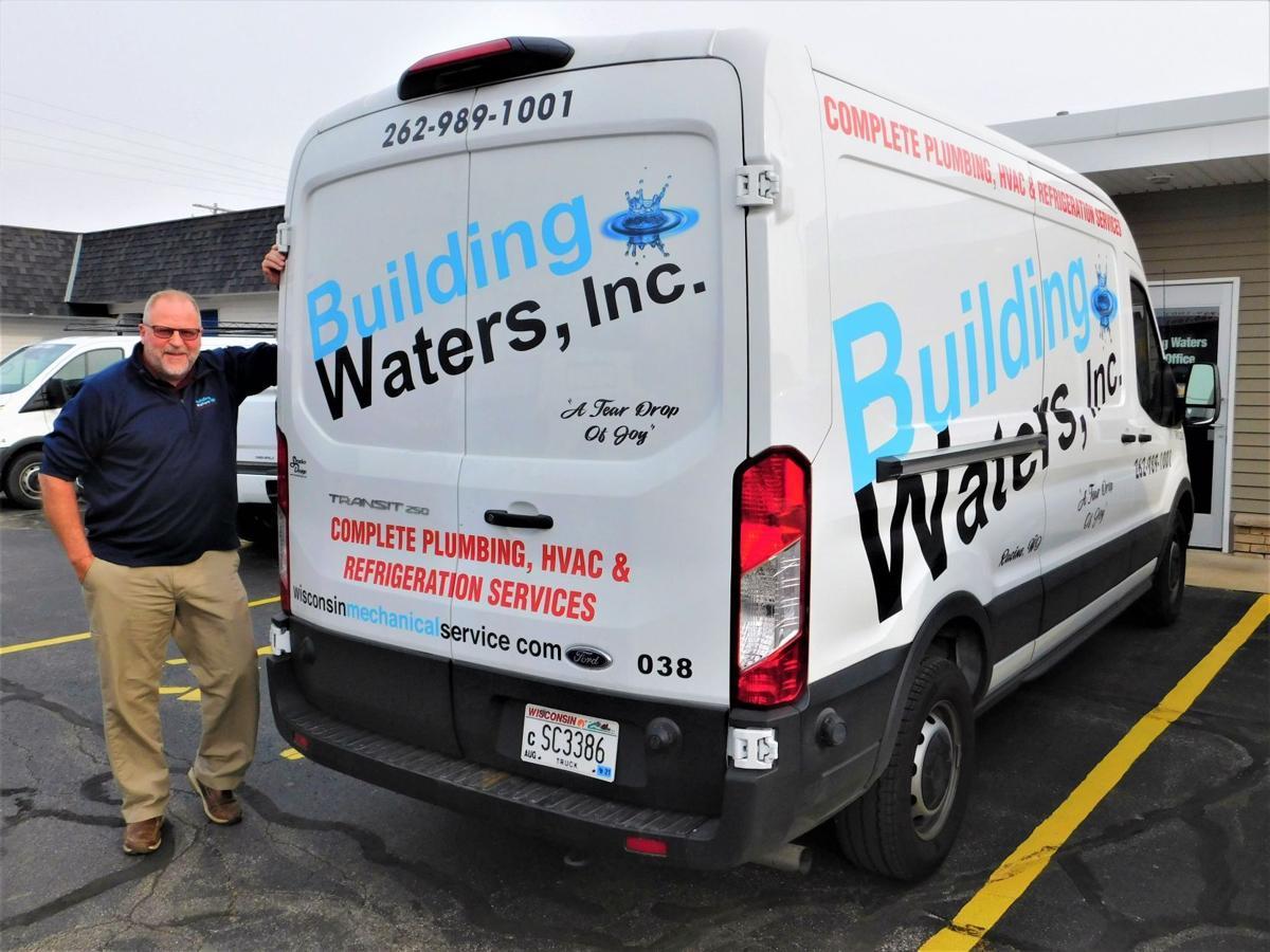 Wesley Rosenberg, owner, Building Waters, Inc., 2101 Lathrop Ave., Racine.