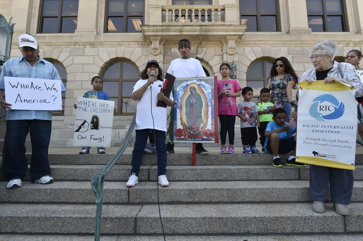 Rally for 'missing children'