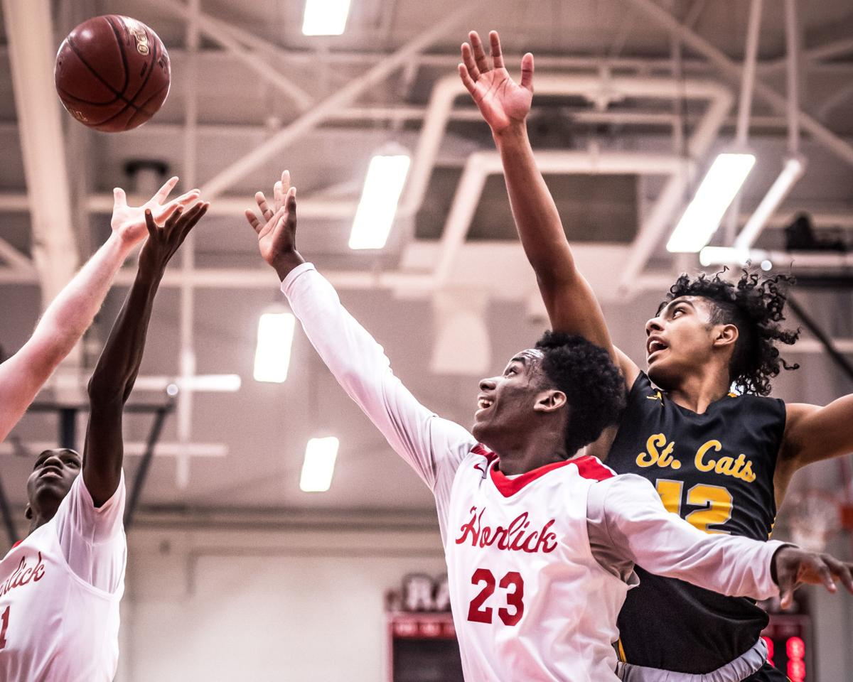 St. Catherine's - Horlick boys basketball