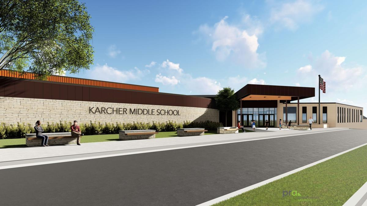 Karcher Middle School rendering