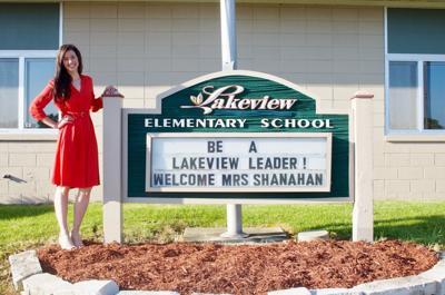Laura Shanahan, Lakeview Elementary principal