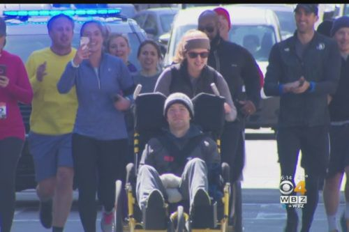 This Woman Helped Her Paralyzed Boyfriend Complete The Boston Marathon—even Though They Didn't Qualify For The Race