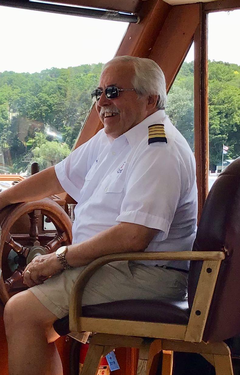 Neill Frame mailboat captain