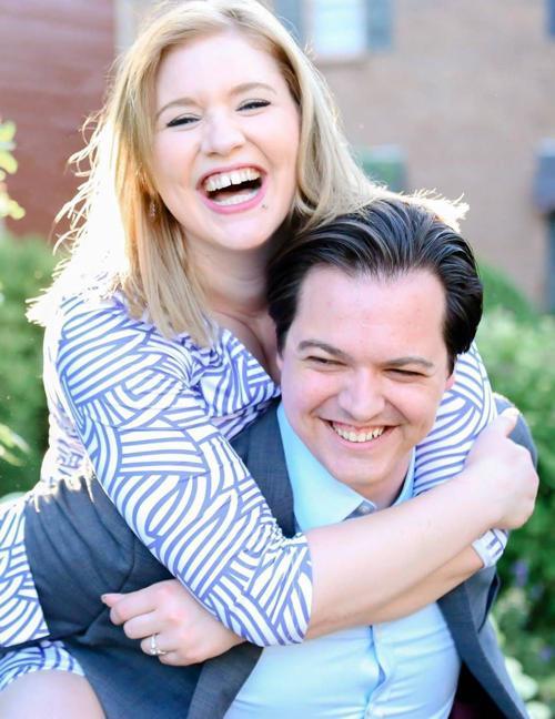 Lauren Graf and Joshua Stephany