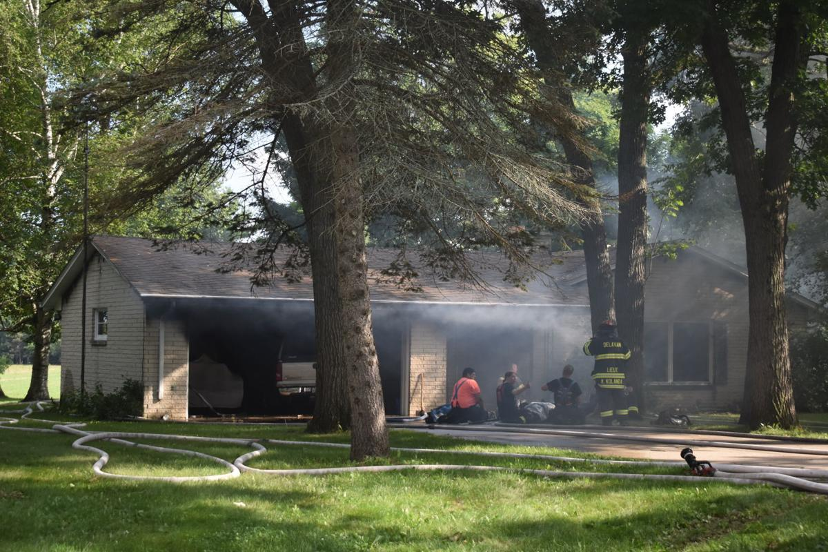 Firefighter injured, others dehydrated fighting Rochester