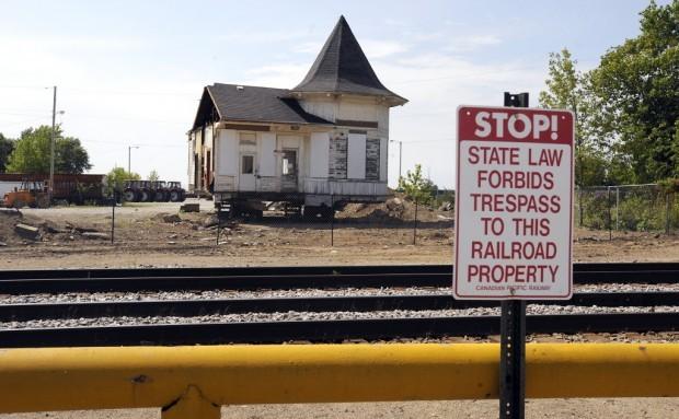 Sturtevant rail station