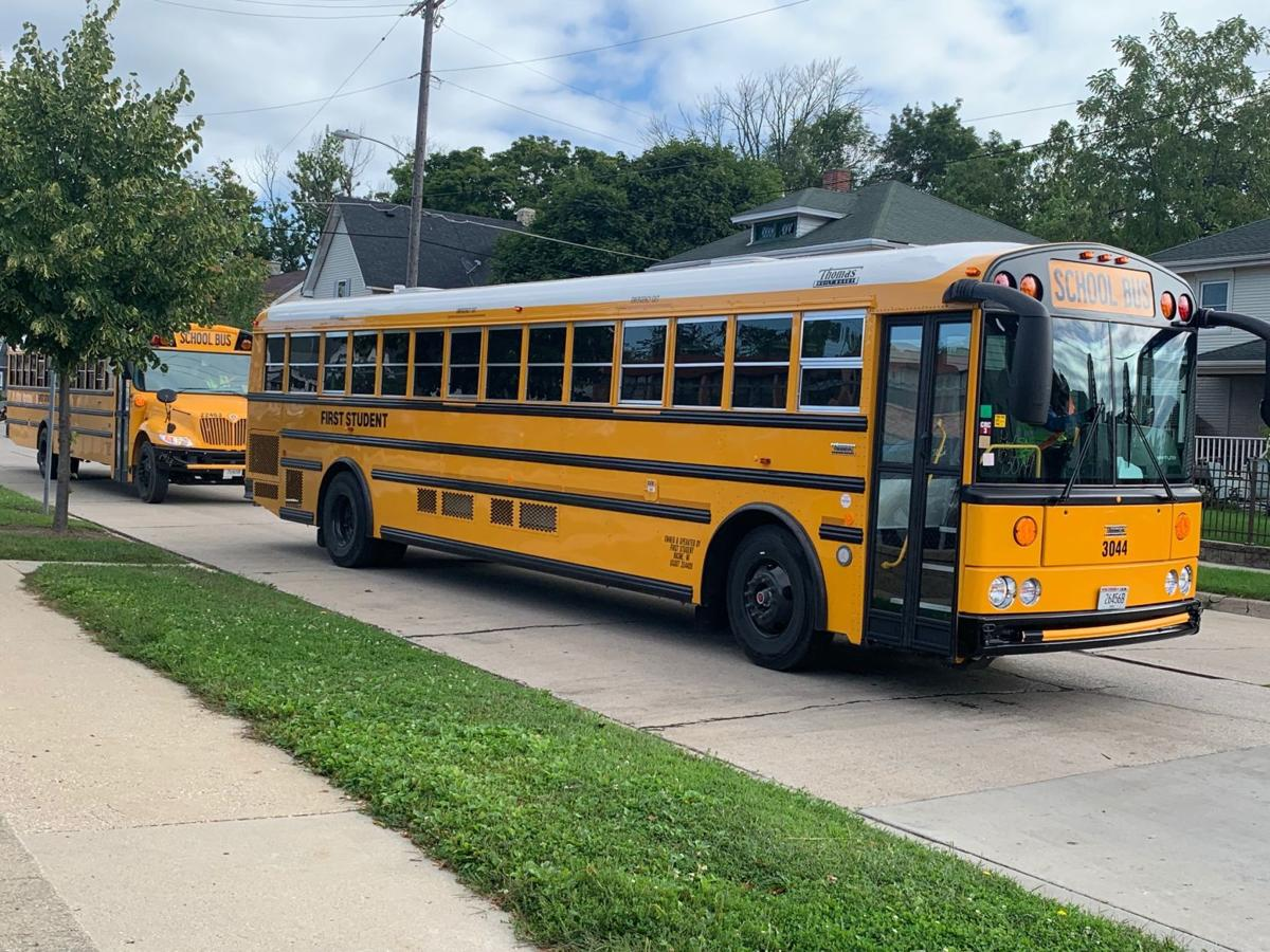 Bus company 20 drivers short, district says it will 'take