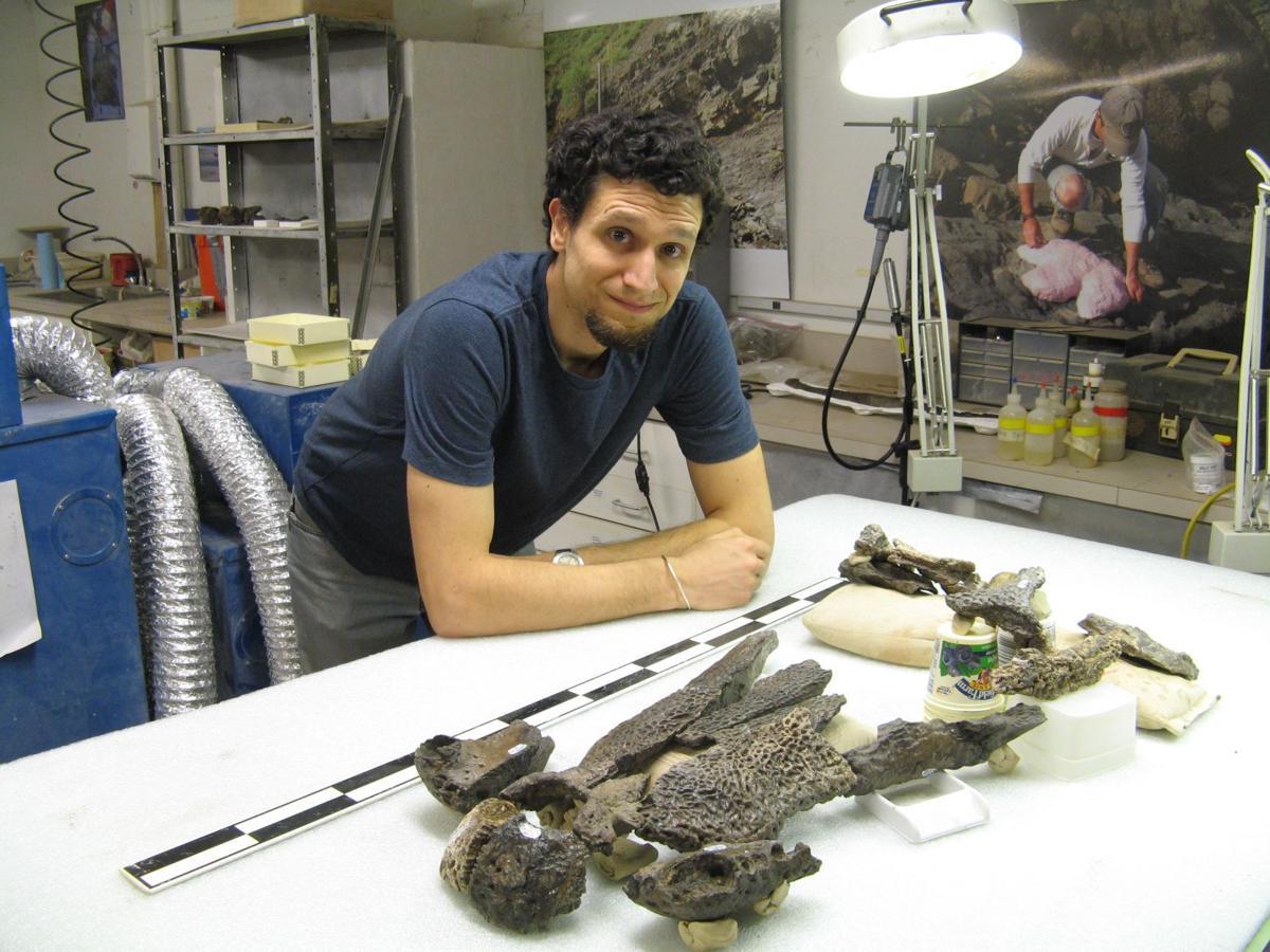 Dr. Chris Noto on Texas dinosaur dig
