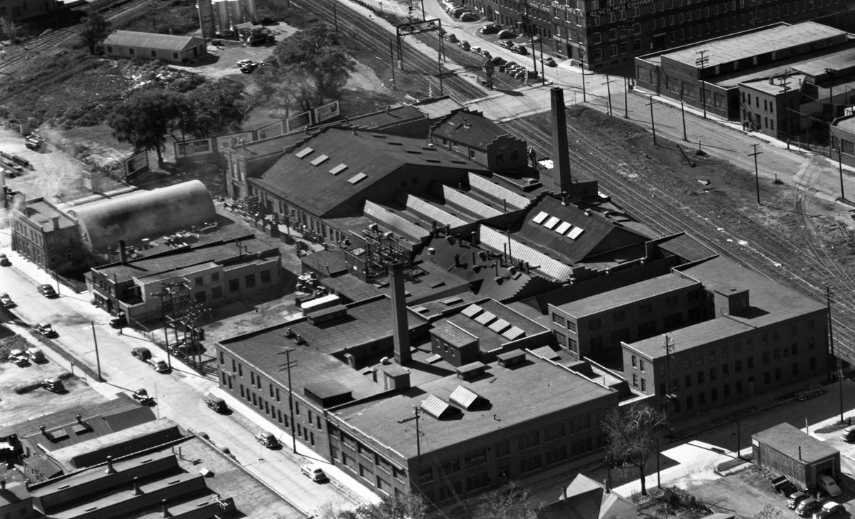 Ajax industrial site, 1949