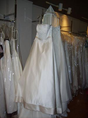 Two wedding gowns