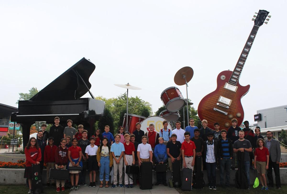Prairie School Middle and Upper School musicians