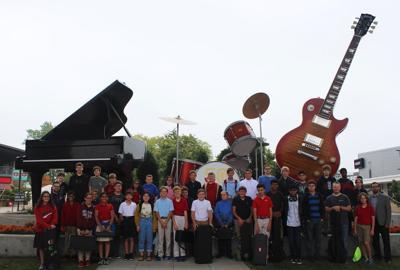 Prairie School Middle and Upper School musicians