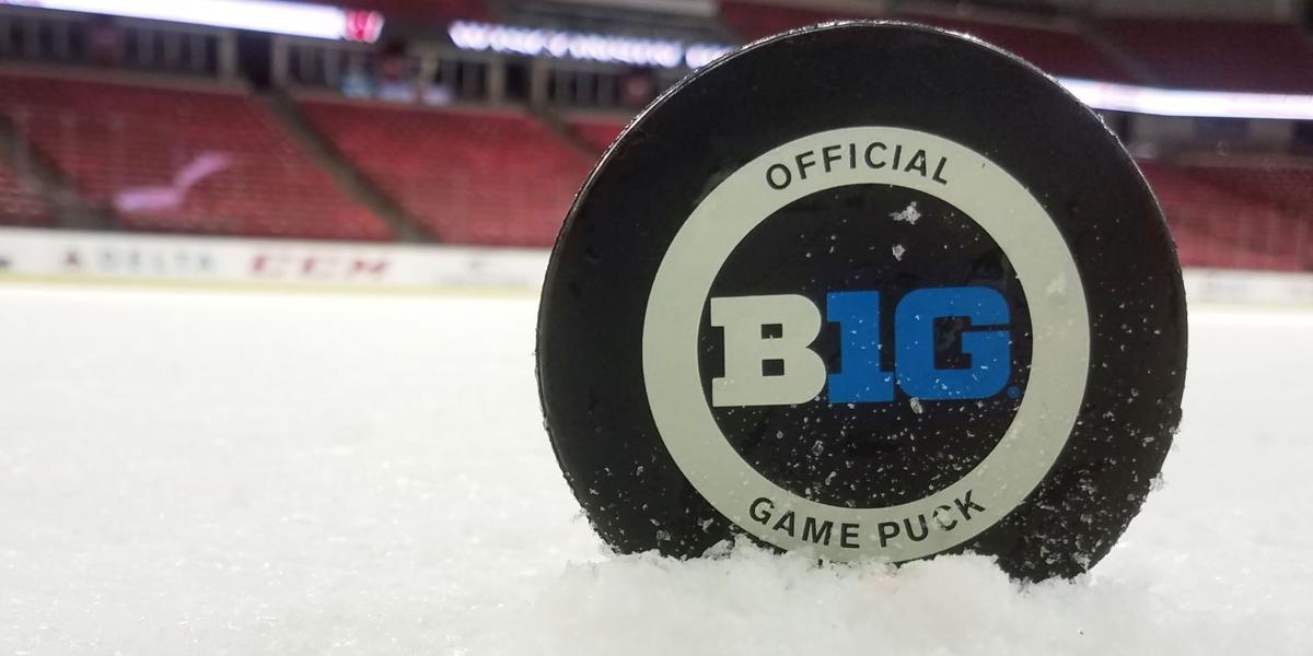 Big Ten puck