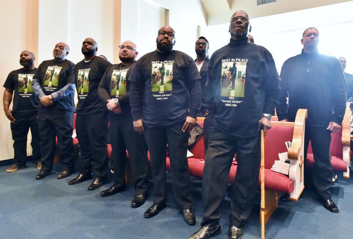 "David ""Dee"" Shelton's funeral"