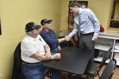 Steil with veterans