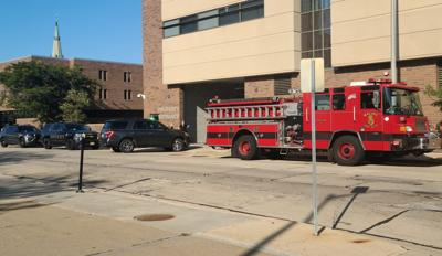 Emergency response Thursday to the Racine County Jail