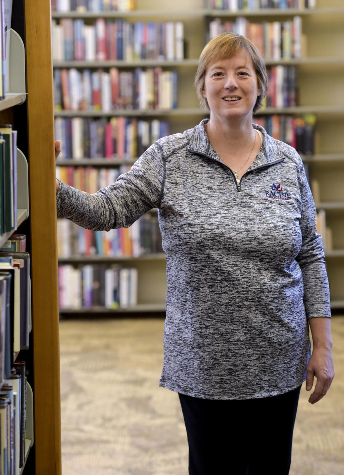 Librarian Darcy Mohr is the head of adult and youth services at the Racine Public Library.
