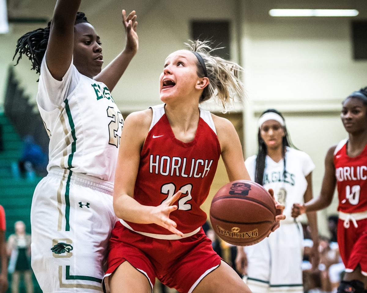 Horlick Case girls basketball