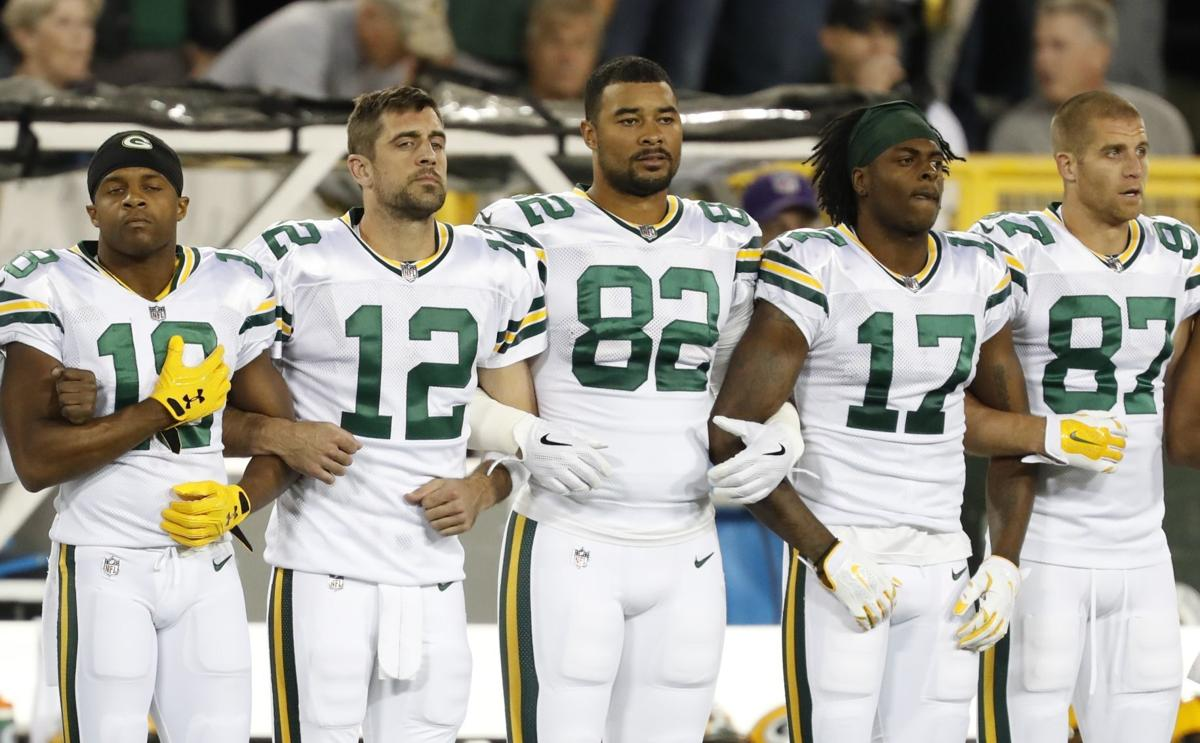 Packers Players Make Video Addressing Racism Injustice Local News Journaltimes Com
