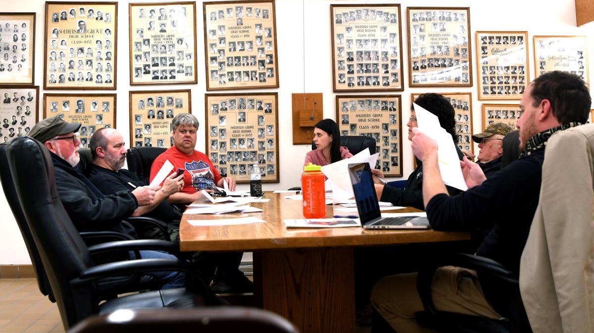 Soldiers Grove board meeting