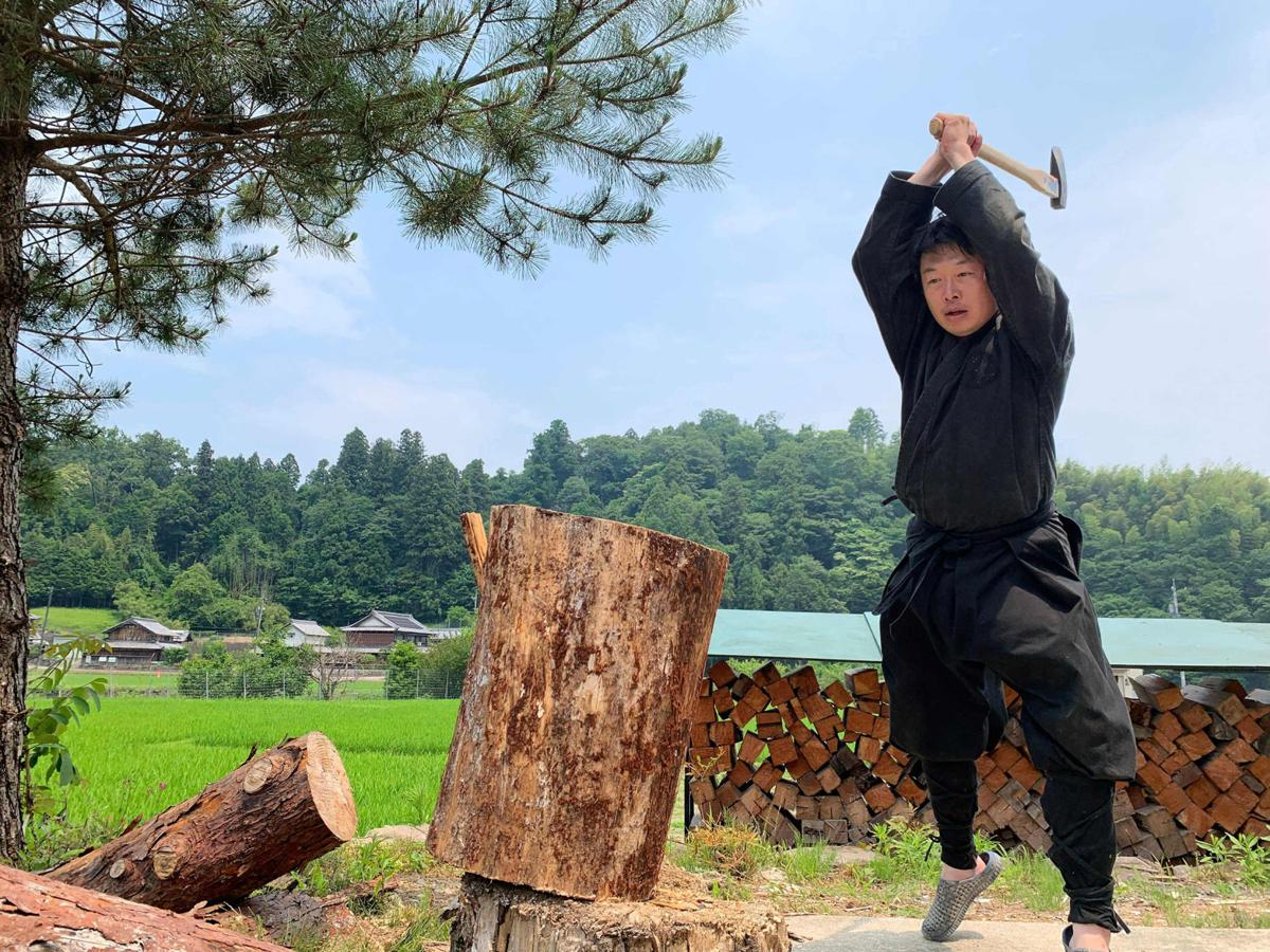 Meet the Japanese man who holds the world's only master's degree in ninja studies
