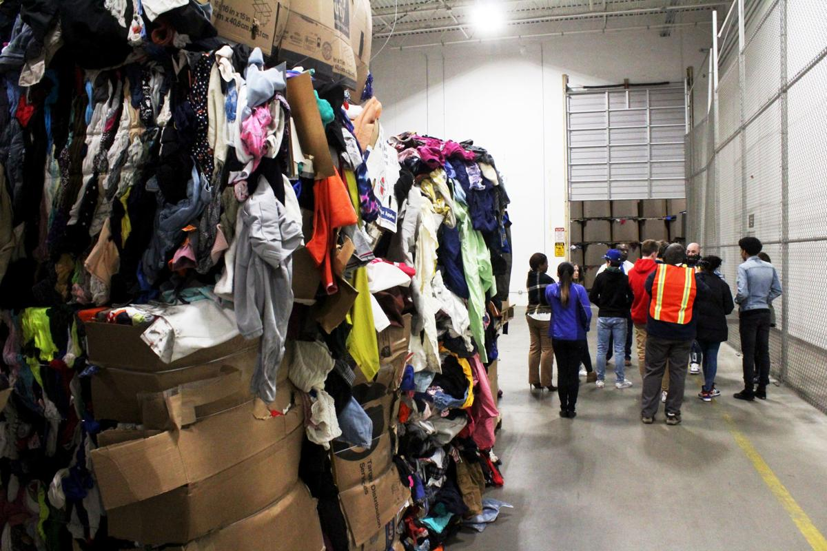 Case students visit Goodwill