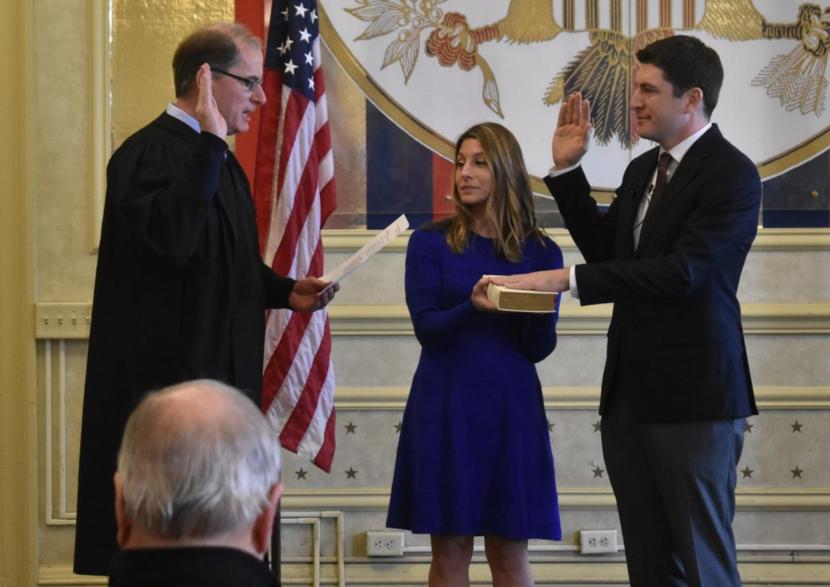 In Racine swearing-in ceremony, Steil expresses frustration