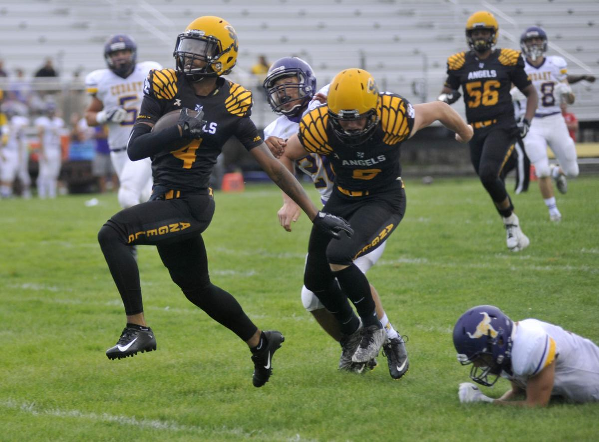 High school football: St  Catherine's off and running in 42