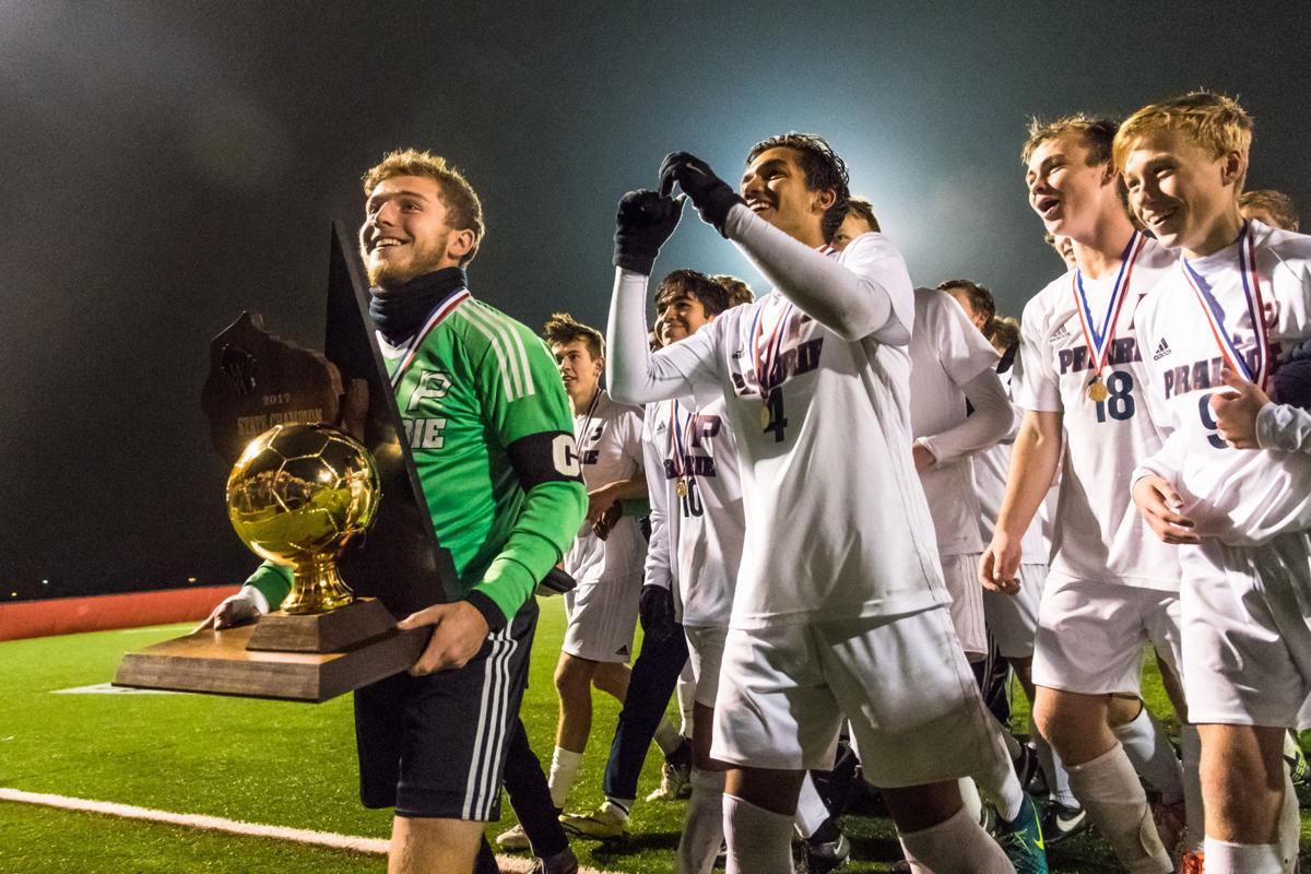 In Photos: Prairie boys soccer brings home the gold