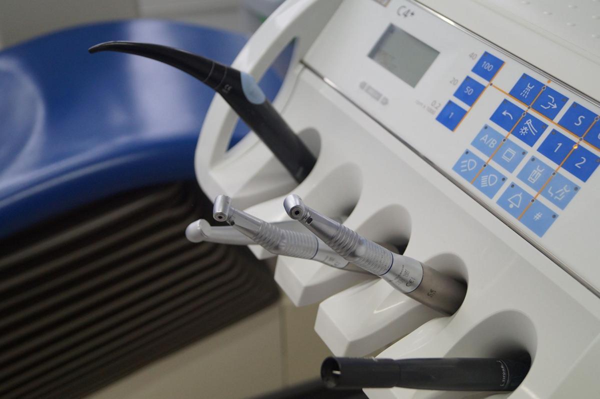 dentist equipment stock photo
