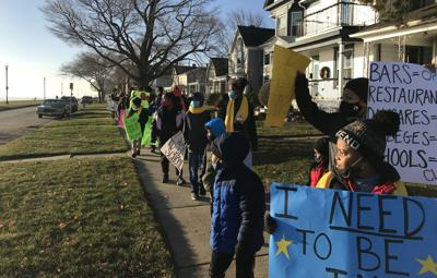 WATCH NOW: Racine school protests closure ordinance: 'Bars are optional. But school? You need that.'