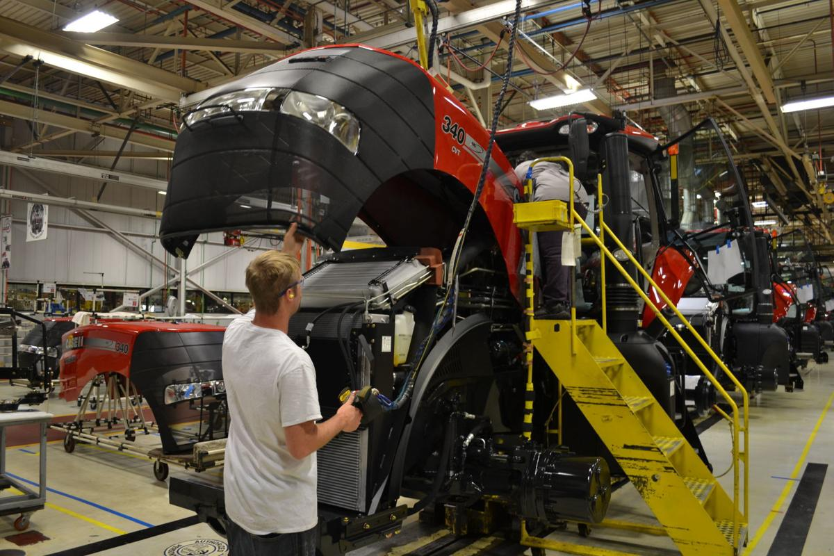 Case IH tractor plant