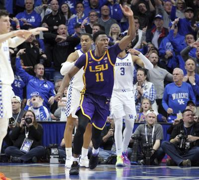 LSU Kentucky Basketball